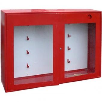 Щит противопожарный металлический закрытый с окнами (без комплекта) (1300х1000х300)