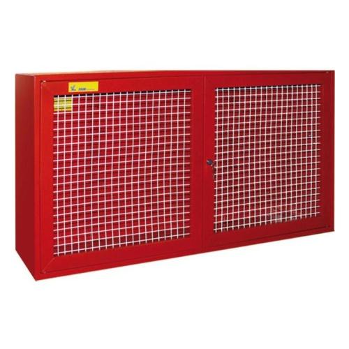 Щит противопожарный металлический закрытый «Т» с сеткой (без комплекта) (1200х700х300)