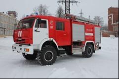 Автомобиль пожарный 1.АЦ 3,2-20 (40;50;60;70;40/4;50/5)  КАМАЗ-43502