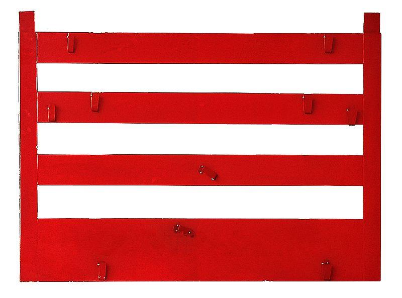 Щит противопожарный металлический открытый каркасный (1200х1000)