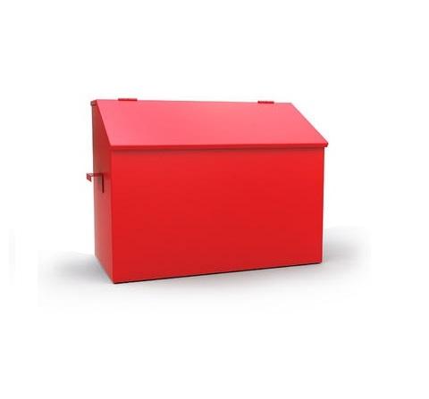 Ящик металлический для песка 0,3м3 ( 900х700х500) сварной