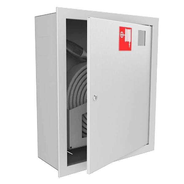 Шкаф для пожарного крана Ш-ПК-001 (встроенный,закрытый,белый) ( ШПК 310 ВЗБ)