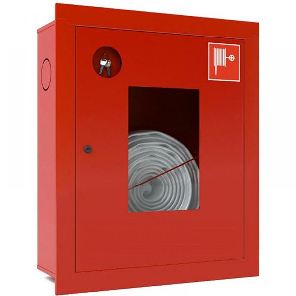 Шкаф пожарный Ш-ПК-001 (встроенный,открытый,красный) (ШПК 310 ВОК)