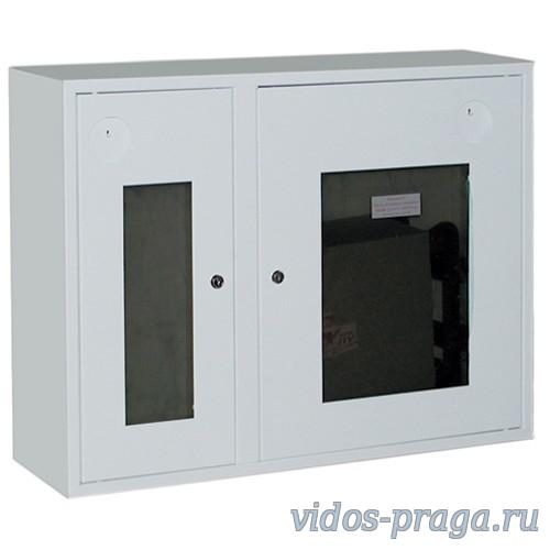 Шкаф для пожарного крана Ш-ПК-002 (навесной,открытый,белый,правый) (ШПК 315 НОБ)