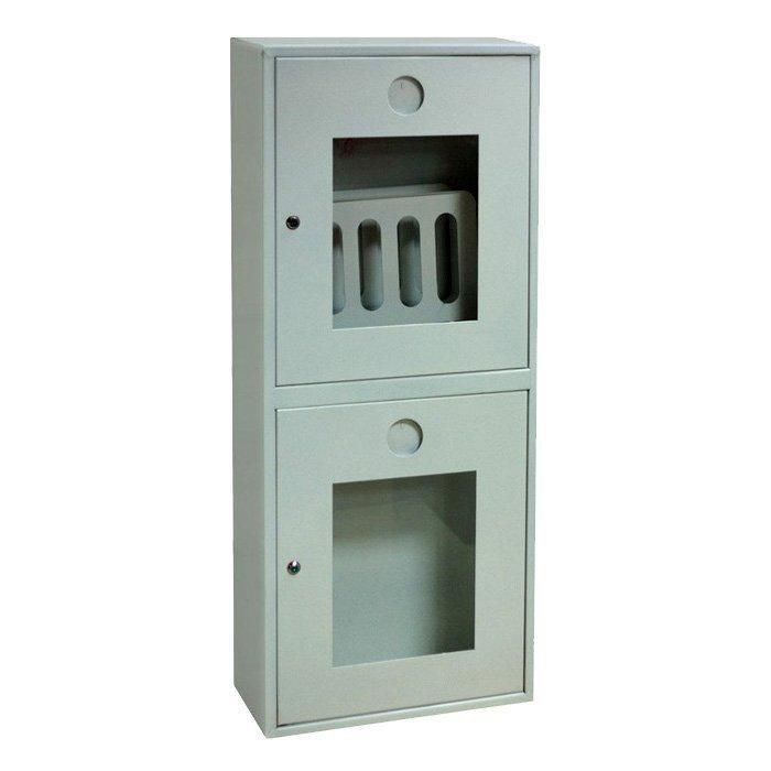 Шкаф для пожарного крана Ш-ПК-О-003 НОБ (навесной,открытый,белый) (ШПК 320 НОБ)