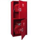 Шкаф для двух пожарных рукавов Ш-ПК-003-21 (навесной,закрытый,красный) (ШПК 320 НЗК -21)