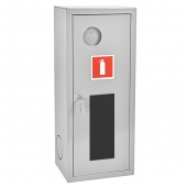 Шкаф для одного огнетушителя ШПО-103 НОБ (навесной открытый белый )