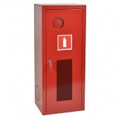 Шкаф для одного огнетушителя ШПО-103 НОК (навесной открытый красный )