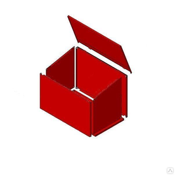 Ящик для песка металлический  0,1м3 (700х500х400)разборный
