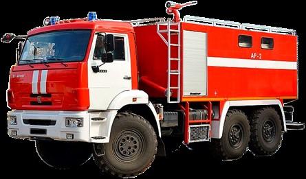 Автомобиль пожарный АР-2 (КАМАЗ-5350)