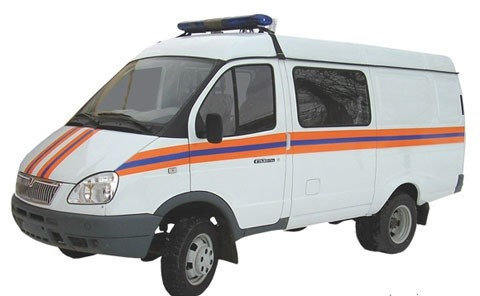 Автомобиль пожарный АПП-5 (ГАЗ)