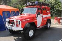 Автомобиль пожарный ЛПА-3 (УАЗ)